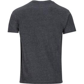 Marmot Pom Pom Kurzarm T-Shirt Herren charcoal heather
